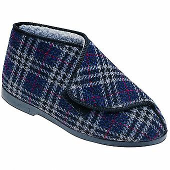 GBS William Great British Touch petite botte de fixation / Slippers Mens / Mens Bootee
