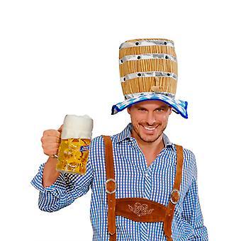 Sombrero de la cerveza del barrilete