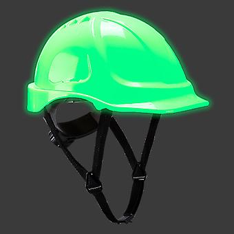 sUw - Endurance Glowtex Glow-In-The-Dark Safety Helmet