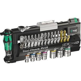 Bit set 39-piece Wera Tool-Check PLUS 05056490001 Slot, Phillips, Pozidriv, Allen, TORX socket, TORX BO incl. torque wrench