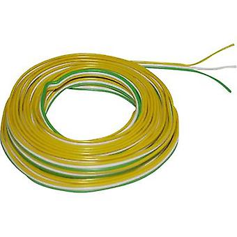 BELI-BECO L318/5T Strand 3 x 0.14 mm² geel, wit, groen, 5 m