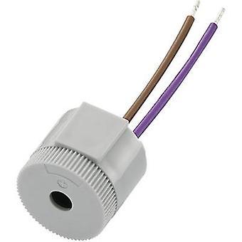 KEPO KPI-G2622L-6270 Piezo buzzer Noise emission: 92 dB Voltage: 12 V Continuous acoustic signal 1 pc(s)