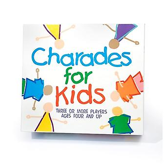 Charades for Kids Party Game Age 4 upwards