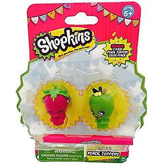 Shopkins penna Topper Strawberry Kiss och äppelblom
