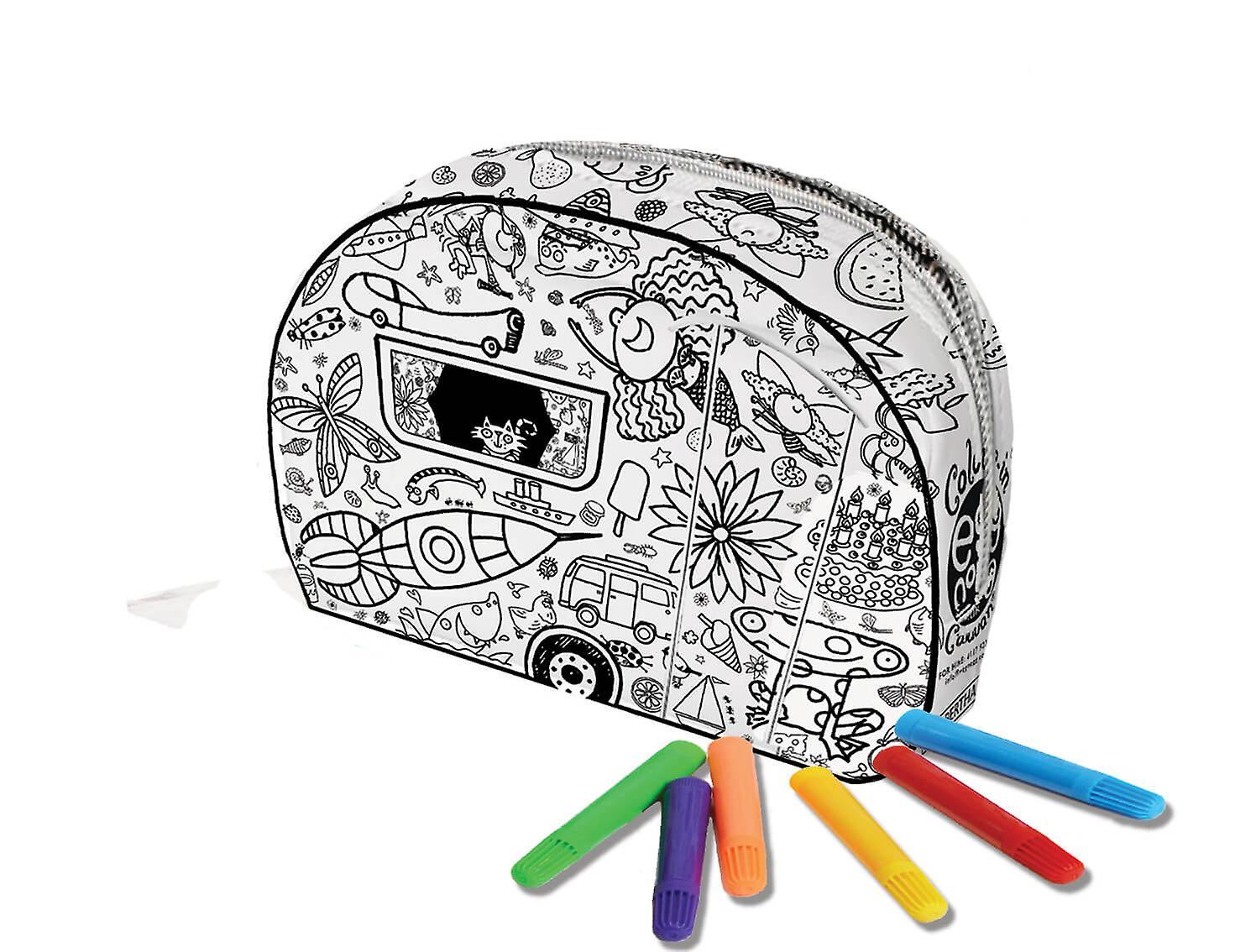 Pencil Case - Caravan
