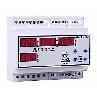 ENTES EPM-04-DIN ENTES EPM-04-DIN Programmable Rail Mounted Multimeter Voltage, current, frequency, neutral current,