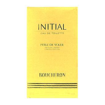 Boucheron Initial Perle de Soleil edición limitada Eau de Toilette 3.4 oz en caja