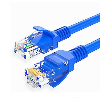 160 cm CAT5e 1000 Mbps Ethernet/netwerkkabel-blauw
