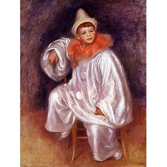 פיירו הלבנה, פייר רנואר, 81-62 ס מ