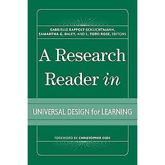 A Research Reader in Universal Design for Learning by Gabrielle Rappo