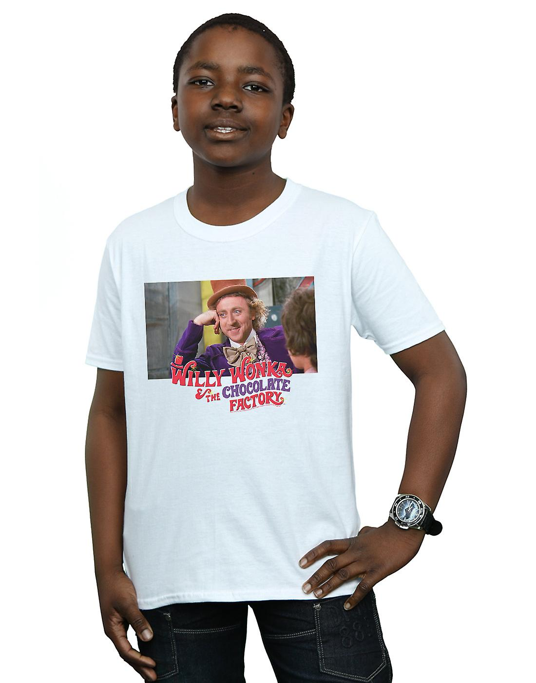 Willy Wonka And The Chocolate Factory Boys Condescending Wonka T-Shirt