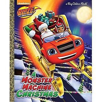 Een Monster Machine Christmas (grote gouden boek)