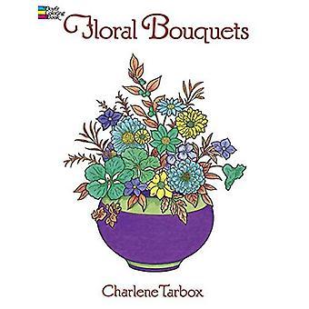 Floral buketter färgning bok