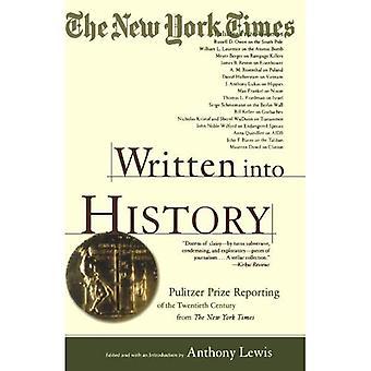 Written Into History