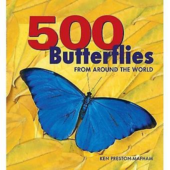 500 papillons: papillons du monde entier