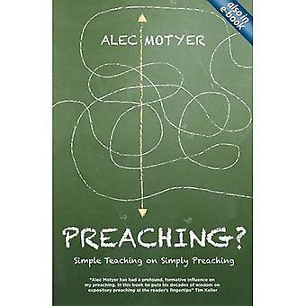 Prédication?: enseignement Simple sur la prédication simplement