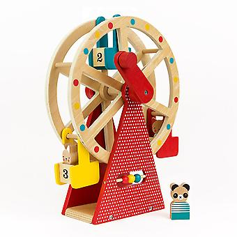 Petit Collage Carnival Playset Wood Ferris Wheel