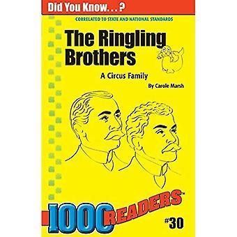 Die Ringling Brothers: Ein Zirkus-Familie (1000 Leser)