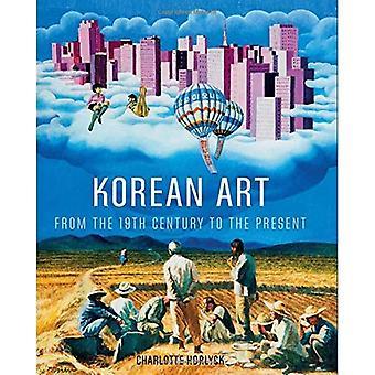 Art coréen datant du XIXe siècle à nos jours