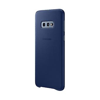 Samsung leather cover Navy for Samsung Galaxy S10 G973 EF VG973LNEGWW bag case protective cover
