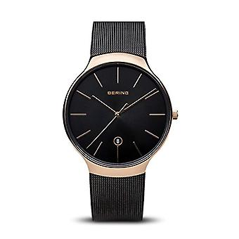 BERING Quartz Analog Unisex Adult with stainless steel strap 13338-262