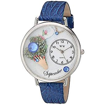 Whimsical Watches unisex wristwatch-U-0910009, leather, color: multicolor