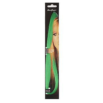 Stargazer Baby Clip In Hair Extensions ~ Green