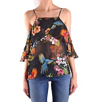 Pinko Ezbc056133 Women's Multicolor Viscose Top
