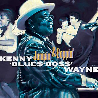 Kenny 'Blues Boss' Wayne - Jumpin & Boppin [CD] USA import