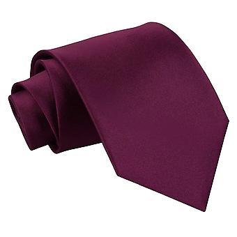 Plomme ren sateng ekstra lange slips