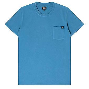 Edwin Pocket T Shirt   Sapphire