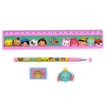 Tsum Tsum Rainbow Stationery Set