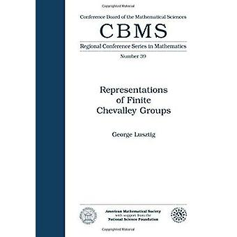 Representations of Finite Chevalley Groups by George Lusztig - 978082