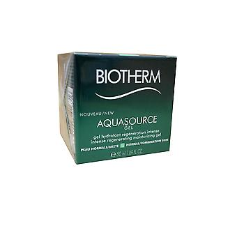 Biotherm Aquasource Gel Intense Moisturizing Gel Normal Combination Skin 1.69 OZ
