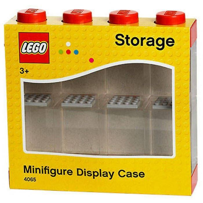 Lego Small Minifigure Display Case - Red Top