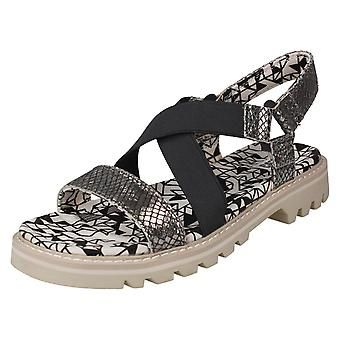 Ladies Caterpillar Open Toe Casual Sandals Ismay
