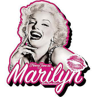Magnet - Marilyn - B&W Funky Chunky New Toys Licensed 95396