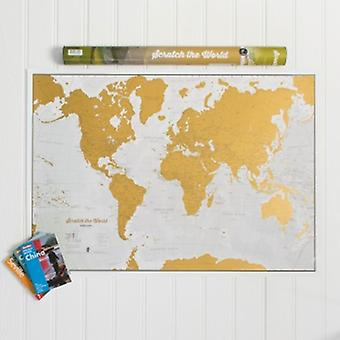 Lovell Johns Scratch The World Map