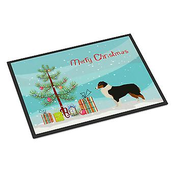 オーストラリアの羊飼いのクリスマスツリー屋内または屋外マット18x27