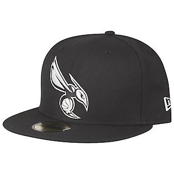 New Era 59Fifty Fitted Cap - NBA Charlotte Hornets schwarz