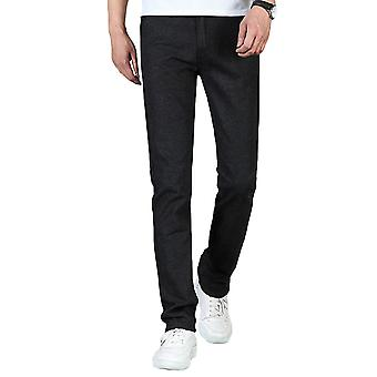 Allthemen Men's Hose Baumwolle Slim Fit Mid-Wasit Travel Casual Hose
