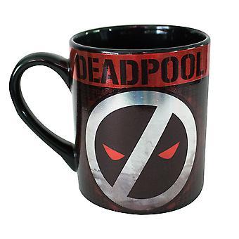 Deadpool Logo 14 Ounce Mug