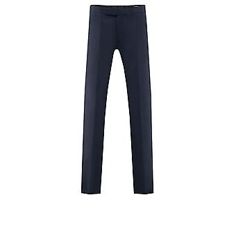 Pantalones Dobell Mens Navy Ajuste Regular