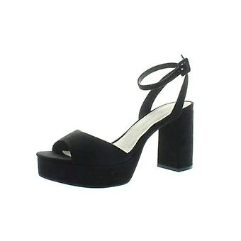 Chinese Laundry Womens Trixi Open Toe Ankle Strap Platform Pumps