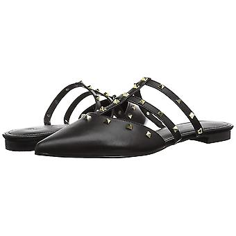 Marc Fisher Womens Amazie Leather Pointed Toe Mules