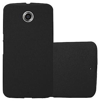Cadorabo sag for Motorola NEXUS 6 sag Cover-mobiltelefon sag lavet af fleksibel TPU silikone-silikone sag beskyttende sag Ultra Slim Soft tilbage Cover sag kofanger