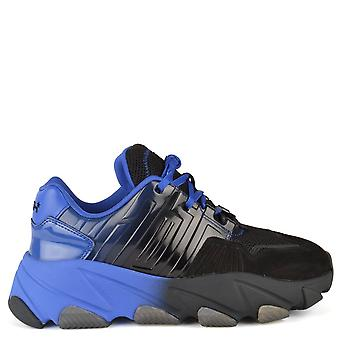 Ash EXTASY Trainers Blue & Black Mesh