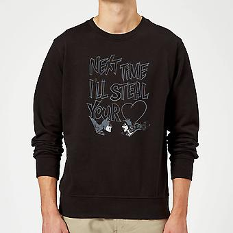 Batman Steal Your Heart Sweatshirt - Noir