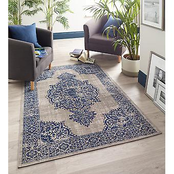Saville Grey  Rectangle Rugs Traditional Rugs