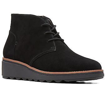 كلاركس شارون هوب أحذية الكاحل النساء